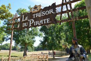 Château des Aventuriers - le trésor du pirate