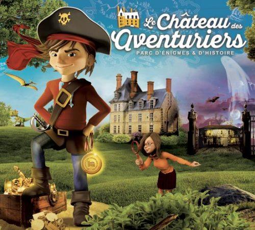 château des aventuriers membre du réseau touristique Vendée Privilèges